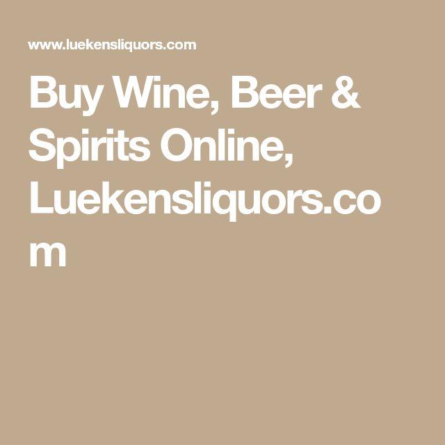 Buy Wine, Beer & Spirits Online, Luekensliquors.com