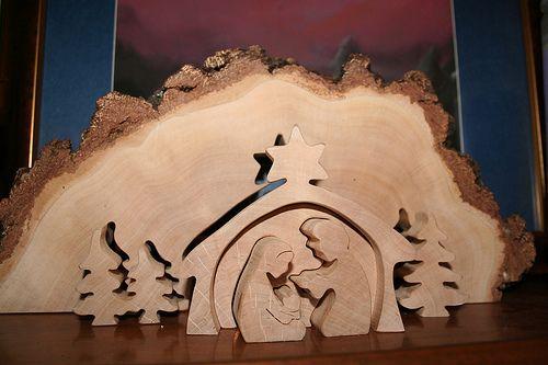 Wood Nativity Scene/Puzzle | Flickr - Photo Sharing! | wood | Pinterest | Mom, Nativity and Photos