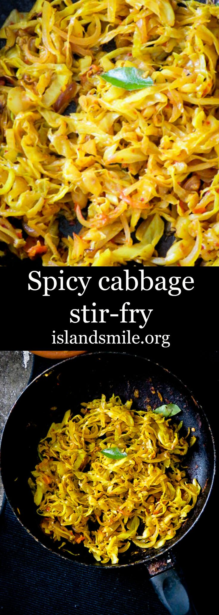 Spicy Cabbage Stir Fry - Join our Facebook group - Let's Low Carb! For more low carb recipes and info