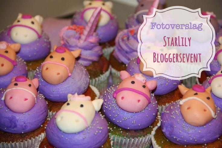 Cupcakes unicorn eenhoorn