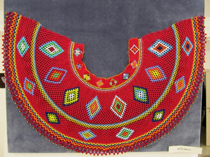 ukrainian traditional beaded jewelry