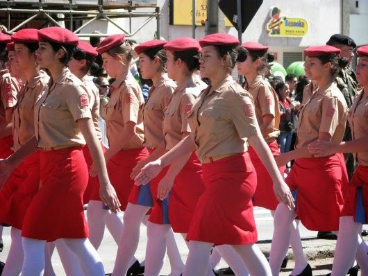the beret women wearing | The Beret Project: Women in Military Beret (2)