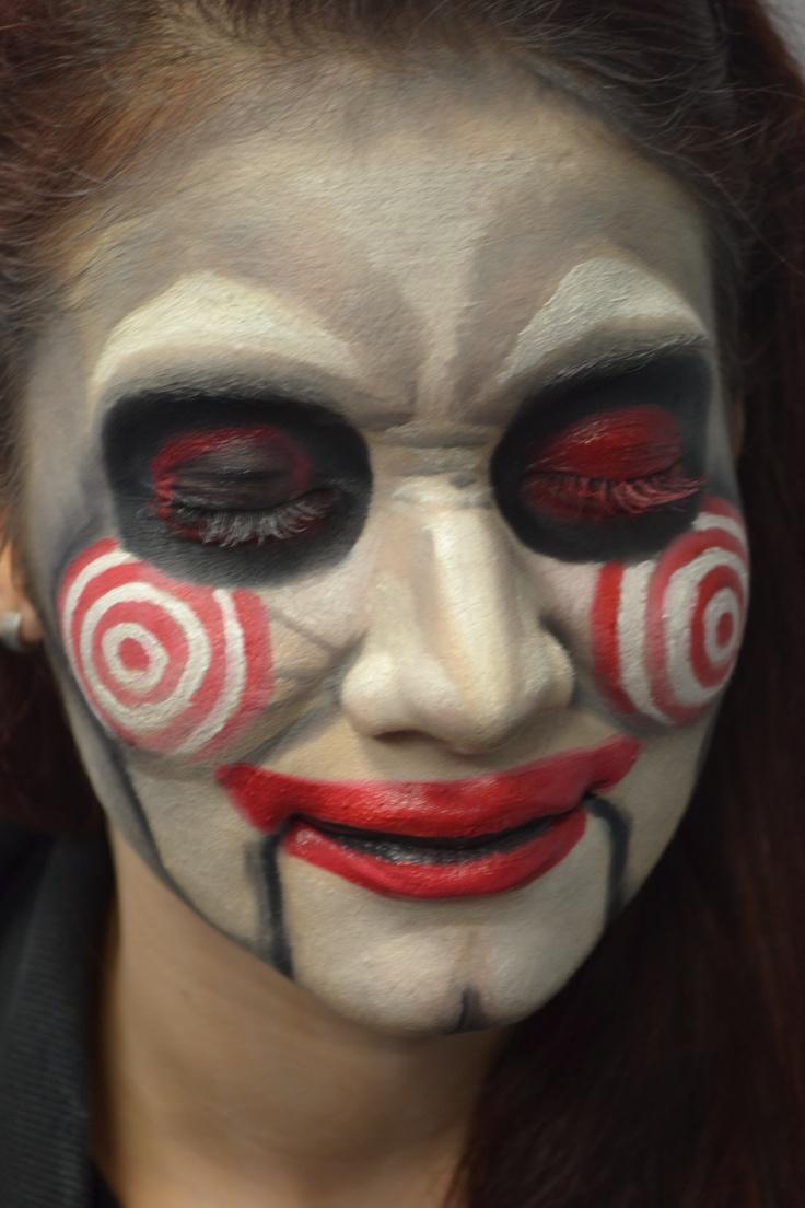 25+ best Jigsaw makeup ideas on Pinterest | Jigsaw costume, Jigsaw ...