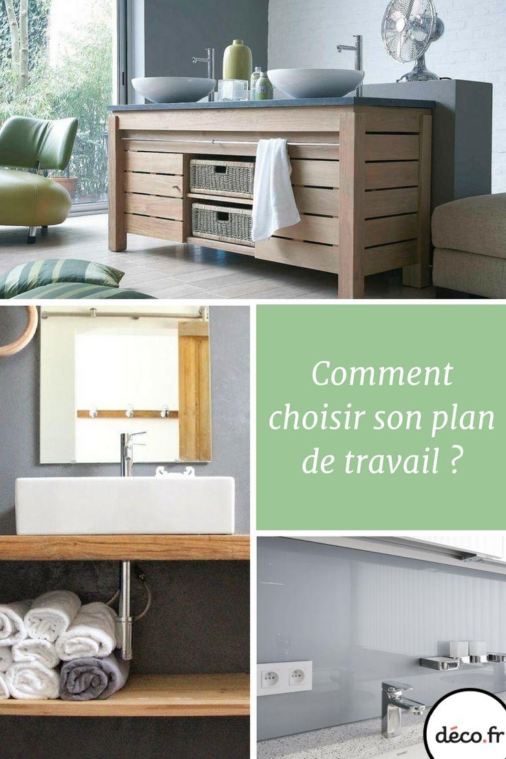 204 best salle de bains images on pinterest room - Quel plan de travail choisir pour une cuisine ...