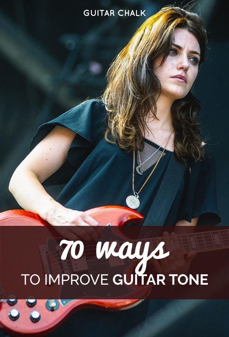 70 Ways to Improve Guitar Tone, https://www.guitarchalk.com/guitar-tone/ #Guitar