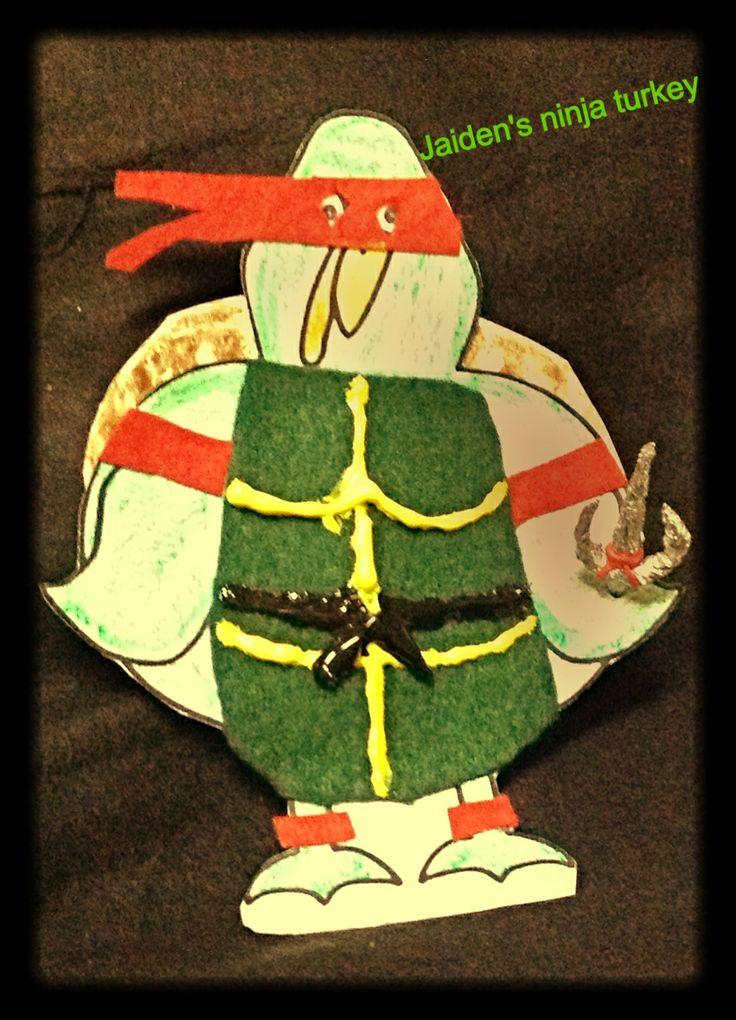 This Is Ninja Turtle Jaiden Turkey Disguise Project