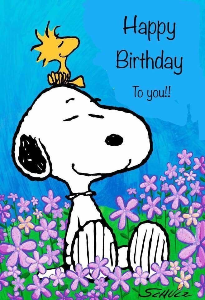 Bildergebnis Fur Snoopy Happy Birthday Images Messaggi Di
