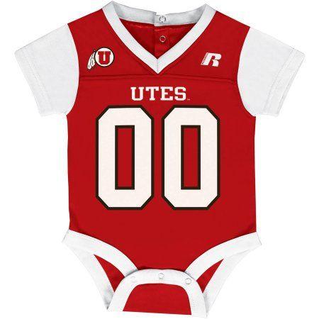 19e15a7ce Ncaa Utah Utes Baby V-Neck Synthetic Bodysuit, Infant Unisex, Size ...