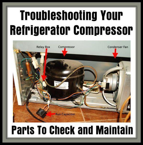 Troubleshooting Your Refrigerator Compressor Is Your Refrigerator Running In 2020 Refrigerator Compressor Refrigeration And Air Conditioning Compressor
