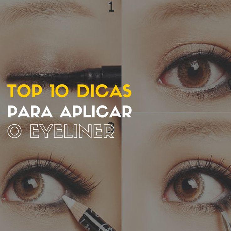 Como Aplicar Eyeliner - http://webfeminina.com/como-aplicar-eyeliner/