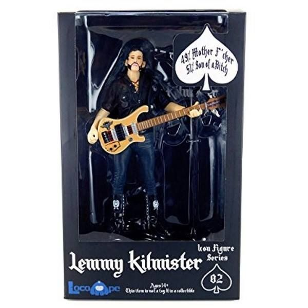 "MOTORHEAD LEMMY KILMISTER RICKENBACKER GUITAR EAGLE ACTION FIGURE 45,90 € https://gamesandcomics.it/catalogo/it/cult-classics/4375-motorhead-lemmy-kilmister-rickenbacker-guitar-eagle-action-figure-0849795002901.html  Games & Comics 0549942567  Fantastica figure di Lemmy Kilmister con chitarra, stage e base tutto a tema Motorhead! Alta 16 cm in pvc da Loco Ape! DESCRIPTION Nearly 40 years of pure and honest Rock 'n Roll - starting in the early 70s with the legendary HAWKWIND on the ""Silver…"