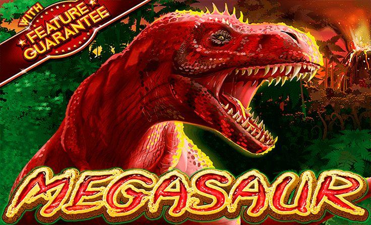"""Büyük dinozorların yok olduğuna inanmayın! Megasaur, RTG firmasının hazırladığı 5 çarklı ve 25 ödeme çizgili slot oyunudur. """"Feature Guarantee"""" sistemini kullanan oyun size inanılmaz keyifli saatler geçirtirir. Oyundaki semboller çeşitli dinozor resimlerinden oluşuyor. Biraz korkunç ama bol kazançlı oyunu oynayın!"""