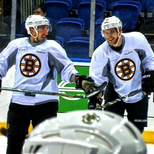 Brad Marchand Tyler Seguin  Boston Bruins