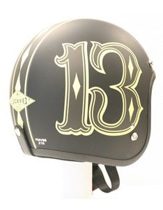 Number 13 Motorcycle Helmet.. This helmet is limited edition; so make sure to…