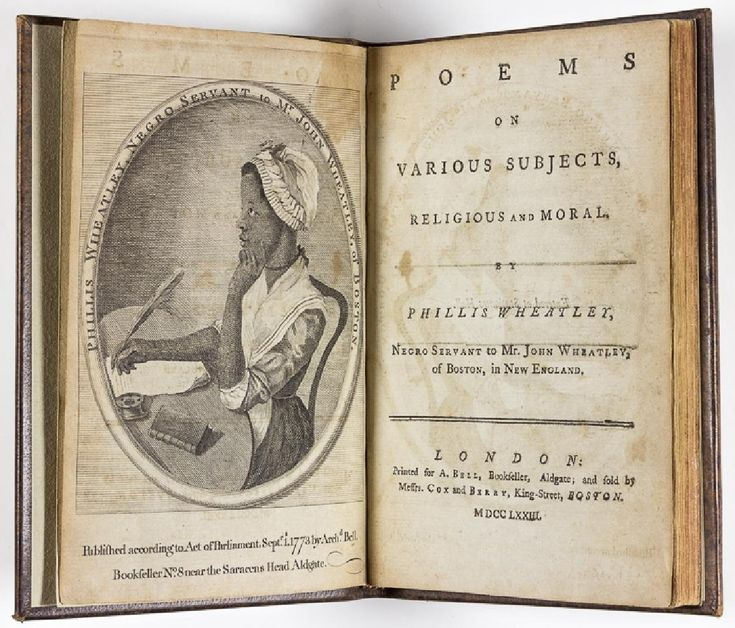 famous phillis wheatley thesis Read phillis wheatley free essay and over 88,000 other research documents phillis wheatley introduction the illustration that phillis wheatley portrays in history.