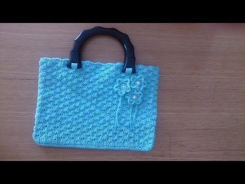 Hướng dẫn cách móc túi xách len - YouTube