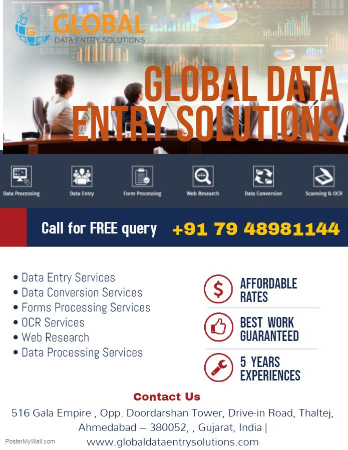 Pin by Global Data Entry Solutions on Data Conversion