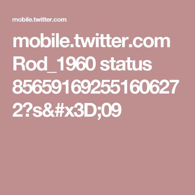 mobile.twitter.com Rod_1960 status 856591692551606272?s=09
