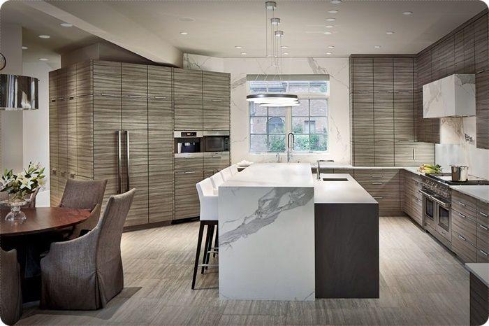 Últimos diseños de cocinas color gris. Cómo remodelar los ...