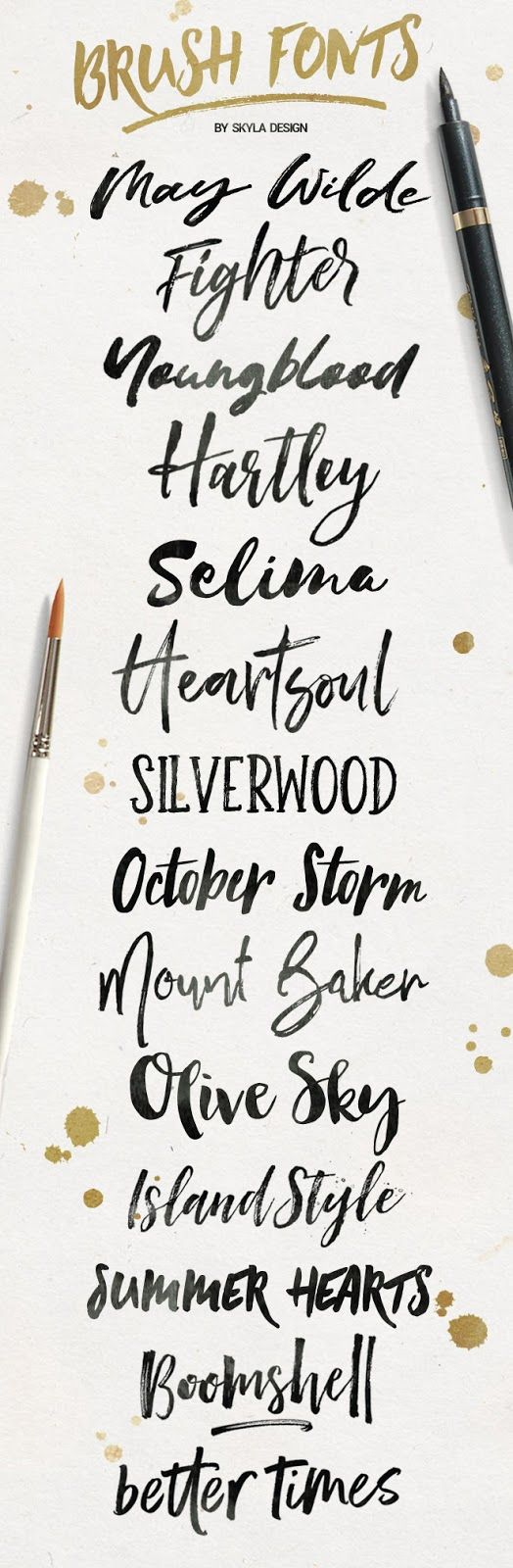 Best 25 watercolor font ideas on pinterest handwritten T in calligraphy