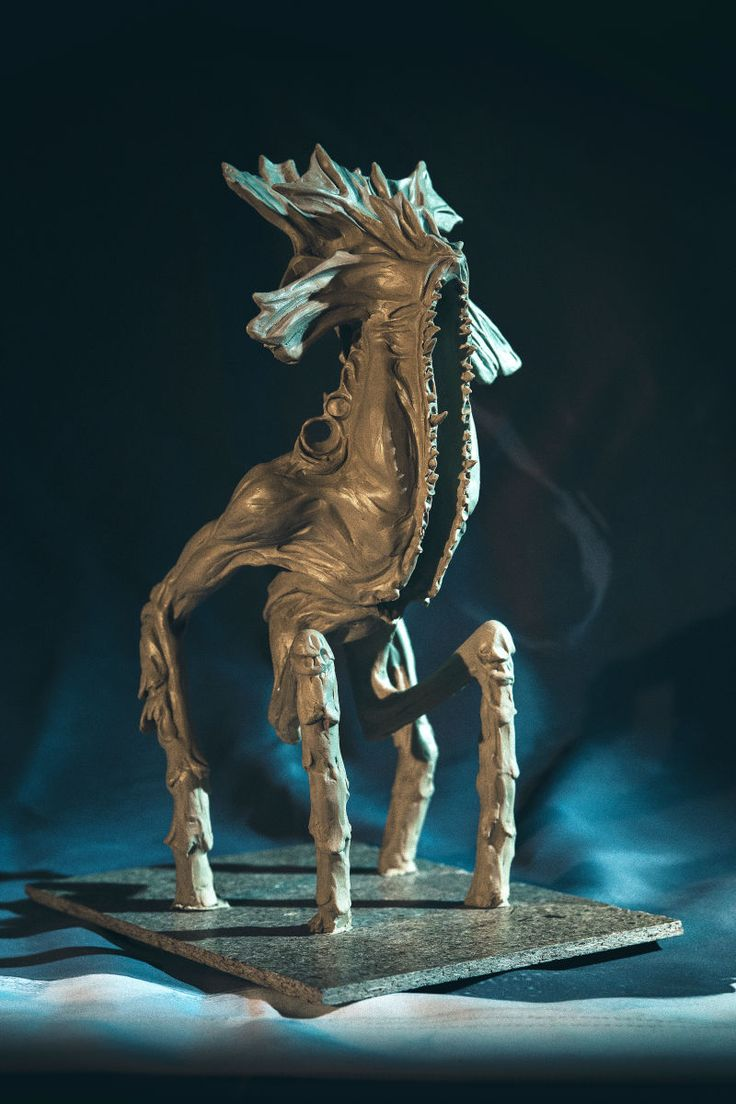 Lovecraftian Terror, Sculpted For A Video Game