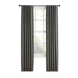 Style Selections Bernard L Solid Tan Back Tab Window Curtain Panel