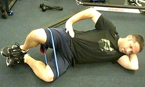 Hip External Rotation Clamshell Exercise (excellent explanation)