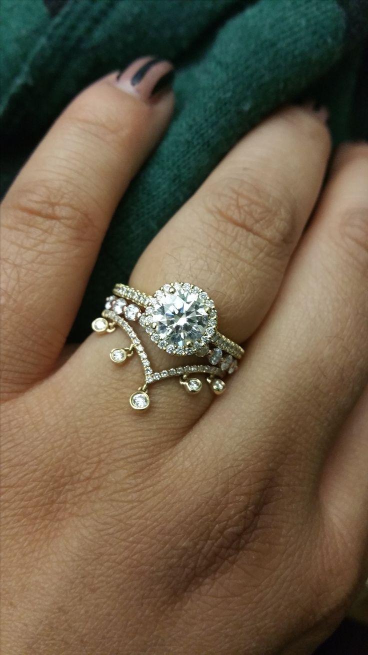 36+ Round shaped wedding rings ideas