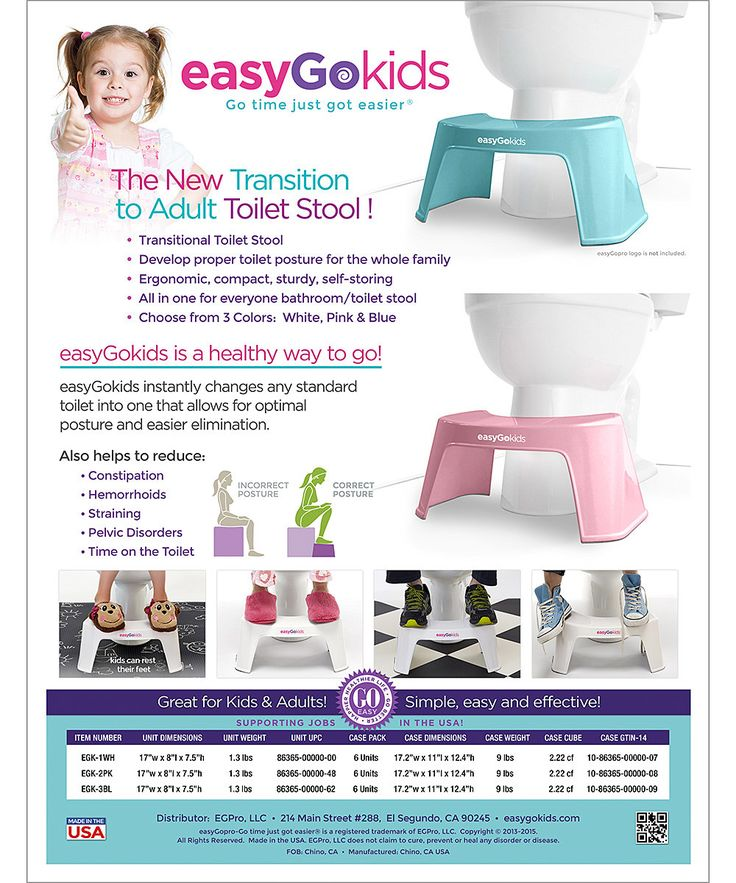 easyGokids Turquoise Kids Transitional Toilet Stool | zulily