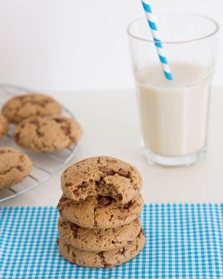 Cookies de Chocolate...Olá Outono ou Olá Verão?