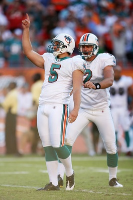 Dan Carpenter and Brandon Fields  Miami Dolphins  NFL