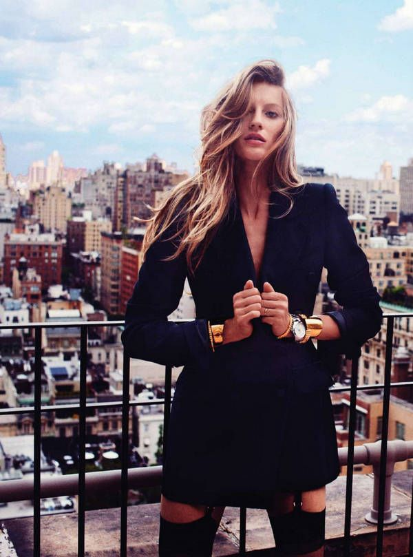 Gisele Bundchen by Cedric Buchet for Harper's Bazaar UK, September 2010.