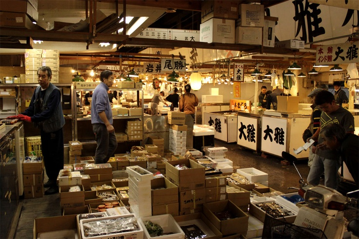Tokyo - Mercado de Tsukiji