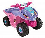 #Walmart: Fisher-Price Power Wheels Dora and Friends Lil' Quad 6-Volt Battery-Powered Ride-On $45 #LavaHot http://www.lavahotdeals.com/us/cheap/fisher-price-power-wheels-dora-friends-lil-quad/105846