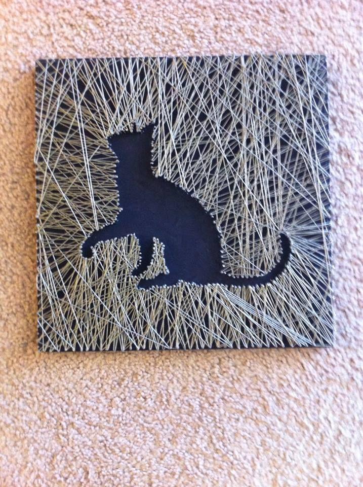 My first string art!