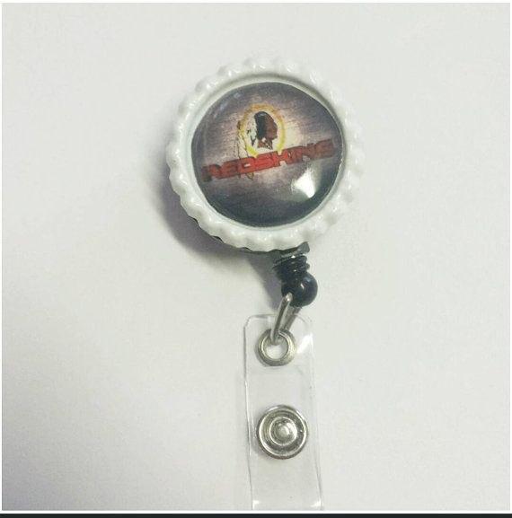 Check out this item in my Etsy shop https://www.etsy.com/listing/212198466/mens-badge-reel-washington-redskins