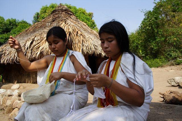 Arhuaco Weavers in Santa Marta - Big Five