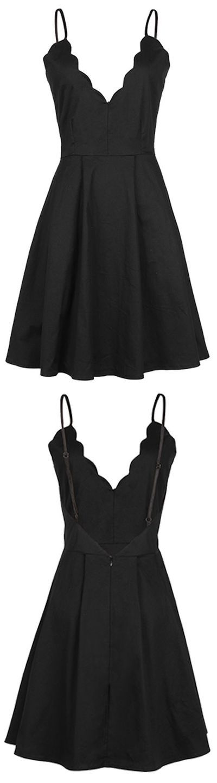 cute little black dress,backless homecoming dress,MB 19