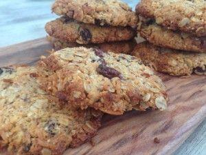 Coconut & Oat Cookies (SF, DF, GF option)