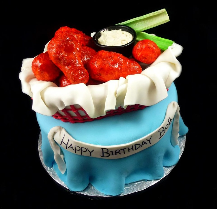 Best Birthday Cakes Images On Pinterest Nut Free Birthday - Buffalo birthday cake