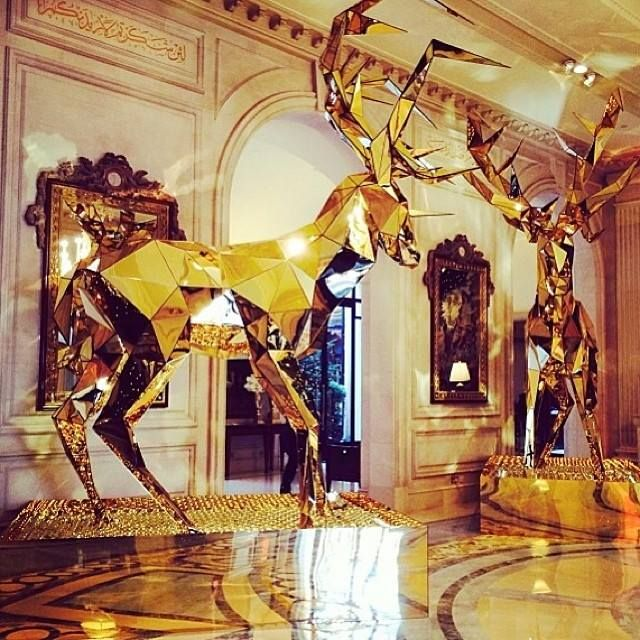 Xmas @ Four Seasons George V hotel in Paris