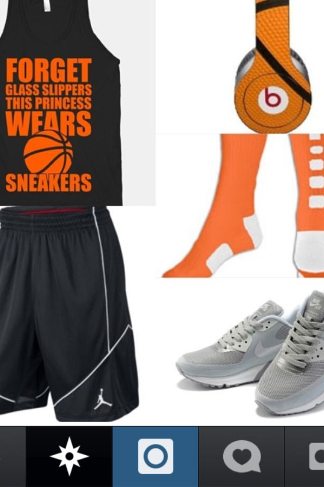 Basketball outfit I love basketball