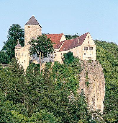 Altmühltal - Schloss - Prunn - Bildquelle: Tourismusverbandes Naturpark Altmühltal