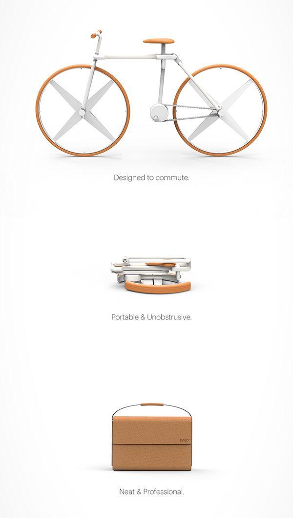 Una bicicleta cuidadosamente doblada. fold_06