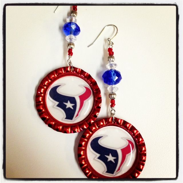 #Texans - Battle RED!! Etsy Store: http://www.etsy.com/shop/KellysCustomKrafts?ref=top_trail