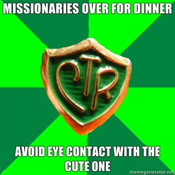 Lol, this is so true! Must not flirt with missionaries... I. must. not. do. it!
