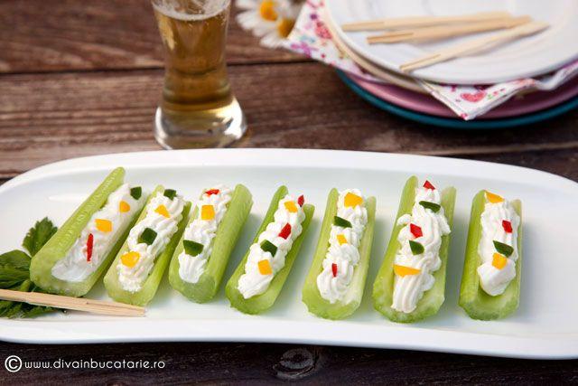 Imagini pentru reteta cascaval cu ardei si sunca aperitiv copt