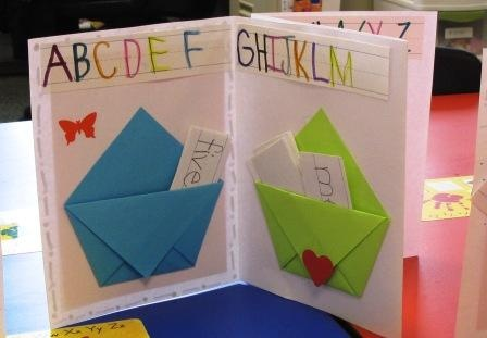 word Book, Lapbook, Kindergarten Pocket Word Word Book, sight Sight Book, Origami books for kindergarteners