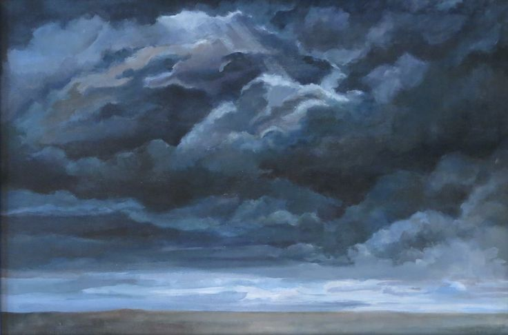 """""""After the Storm""""...painted in my student years"""