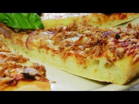 """Пицца с тунцом и луком и """"Маргарита"""" - YouTube"""